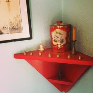 kitchen altar