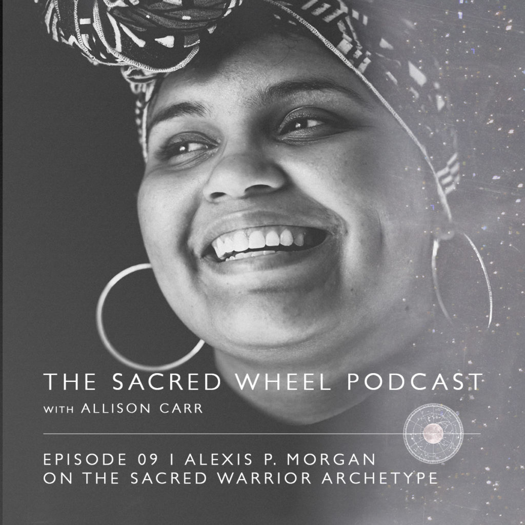 I talk with Alexis P. Morgan about being a spiritual warrior